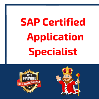 SAP Certified Application Specialist