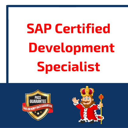 SAP Certified Development Specialist