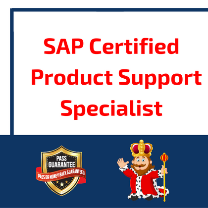 SAP Certified Product Support Specialist