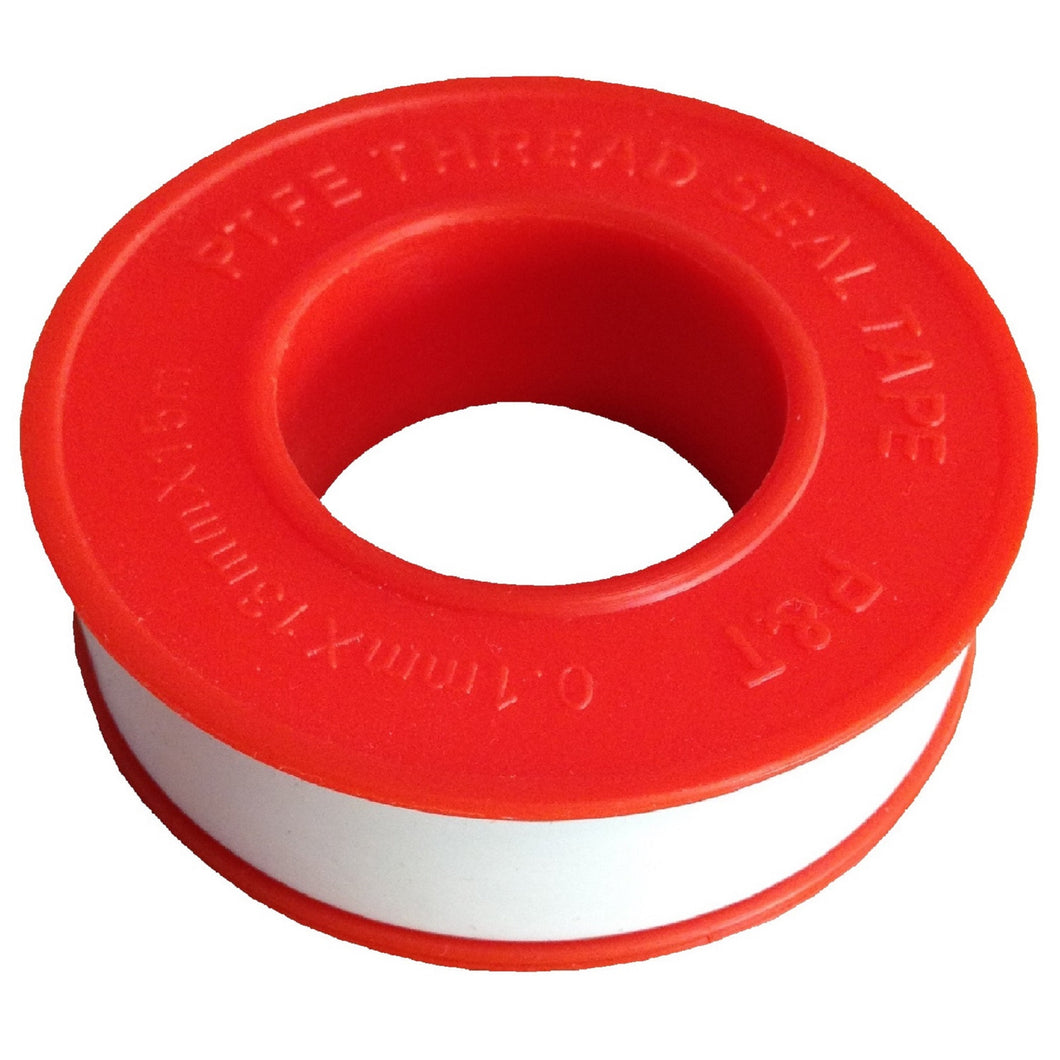 Teflon Plumbers Thread Tape | Stop Water Filter Fitting Leaks | 1x 15 Meter Roll
