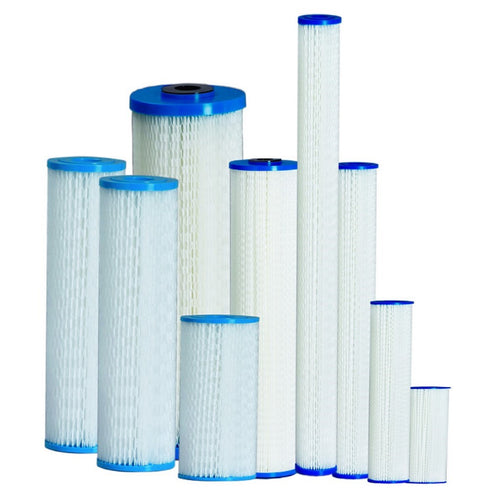 Washable Reusable Pleated Sediment Water Filters House Tank Hot Tub Dirt Filter