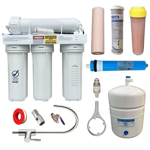 RON-4-D Reverse Osmosis Marine Aquarium Fish Tank Filter RODI