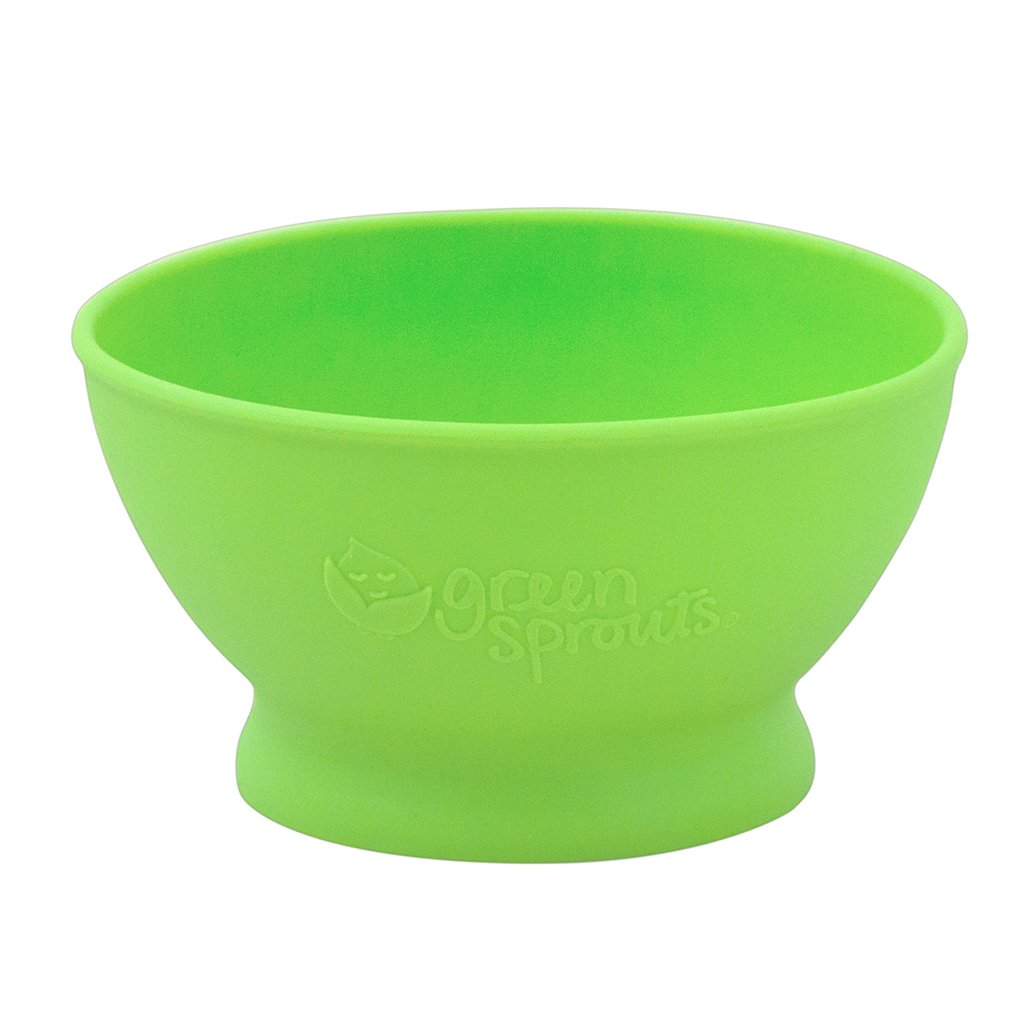 Green Feeding Bowl made from Silicone