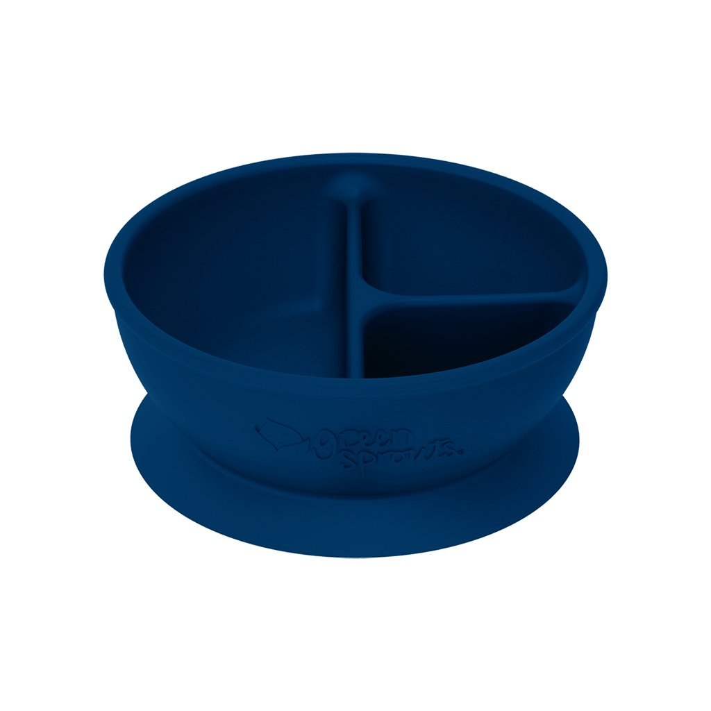 Navy Learning Bowl made from Silicone