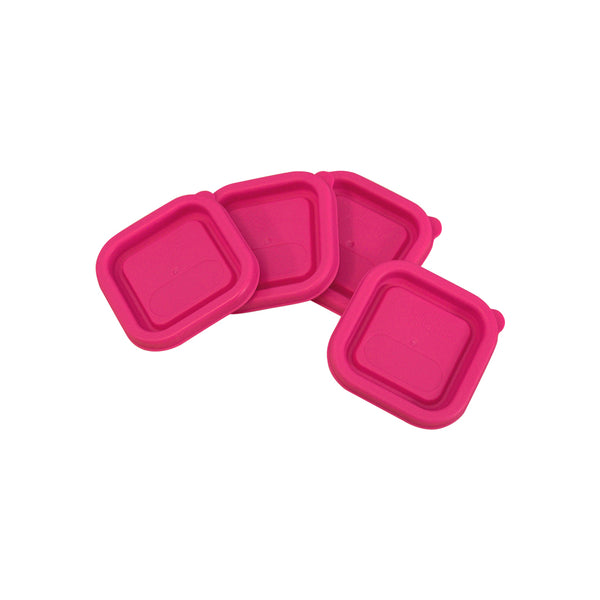 Replacement Lids For Fresh Baby Food Cubes (4 Pack)