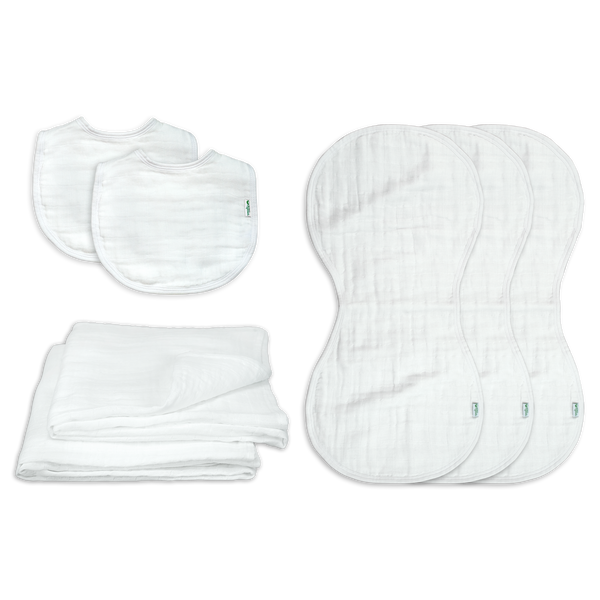 Newborn Gift Set made from Organic Cotton (7 pieces)