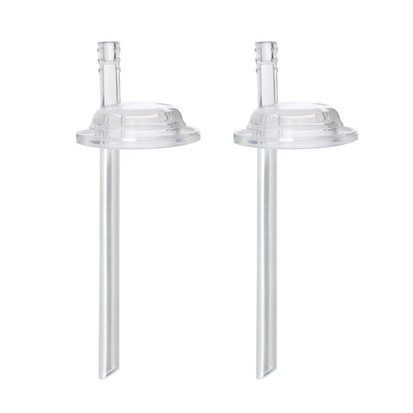 Straw Spouts and Straws for Bottles and Cups (2 Pack)