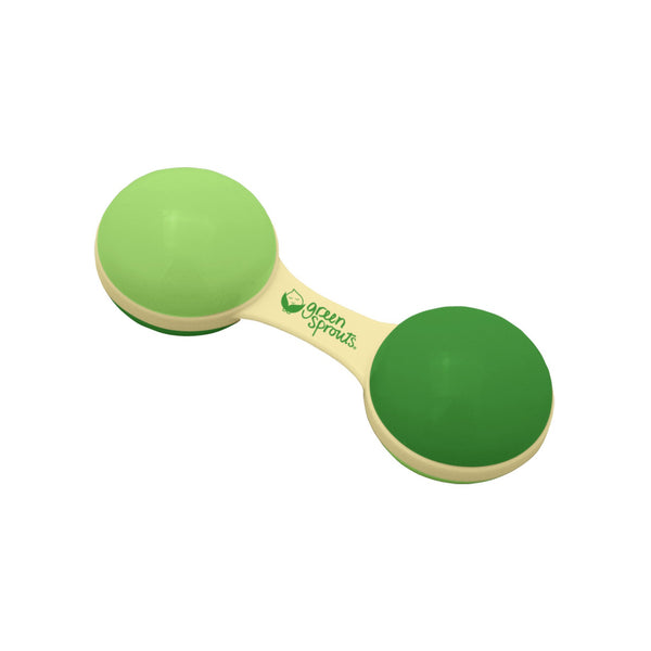 Sprout Ware® Dumbbell Rattle made from Plants