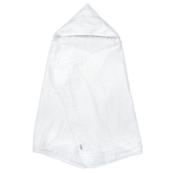 Muslin Hooded Towel made from Organic Cotton