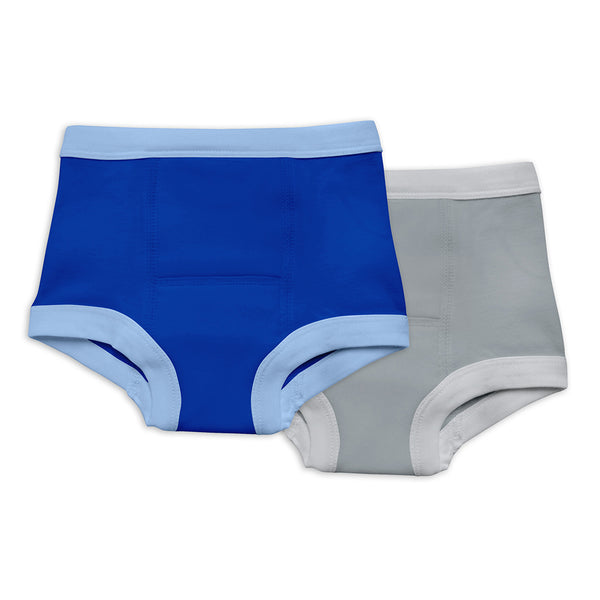 Reusable Absorbent Training Underwear Made From Organic Cotton (2 Pack)