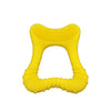 Yellow Cleaning Teether made from Silicone