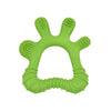 Green Front and Side Teether made from Silicone