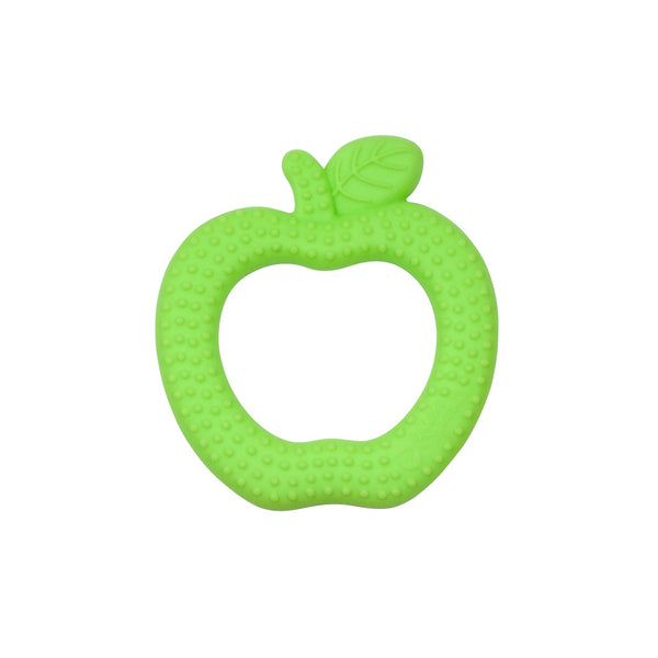 Green Apple Fruit Teether made from Silicone