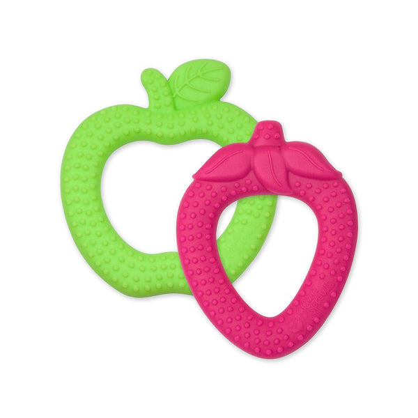 Fruit Teethers made from Silicone (2 pack)
