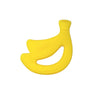 Yellow Banana Fruit Teether made from Silicone