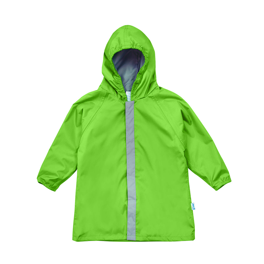 Green Lightweight Raincoat