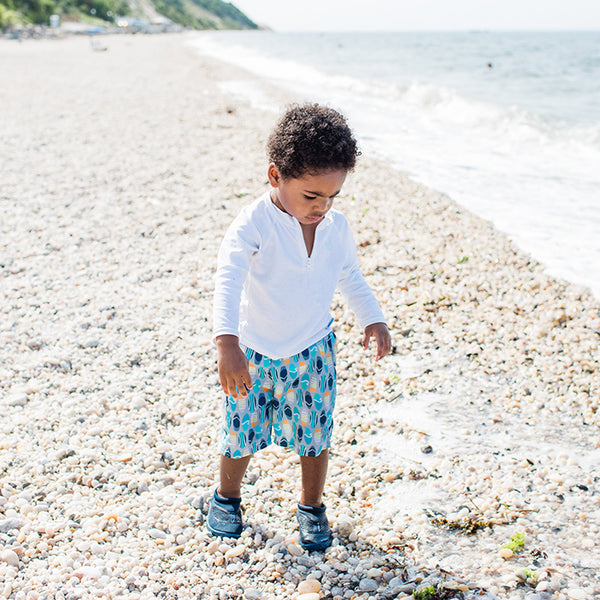 Pocket Trunks with Built-in Reusable Absorbent Swim Diaper