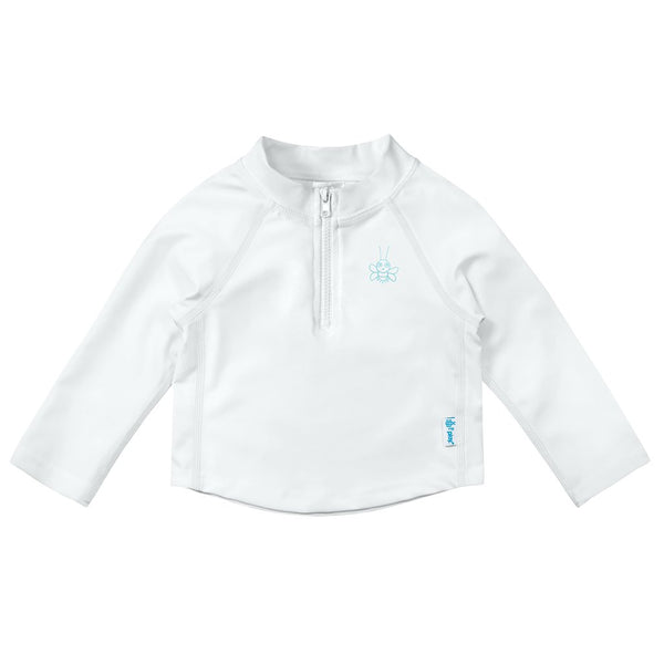 Long Sleeve Zip Rashguard Shirt - Original