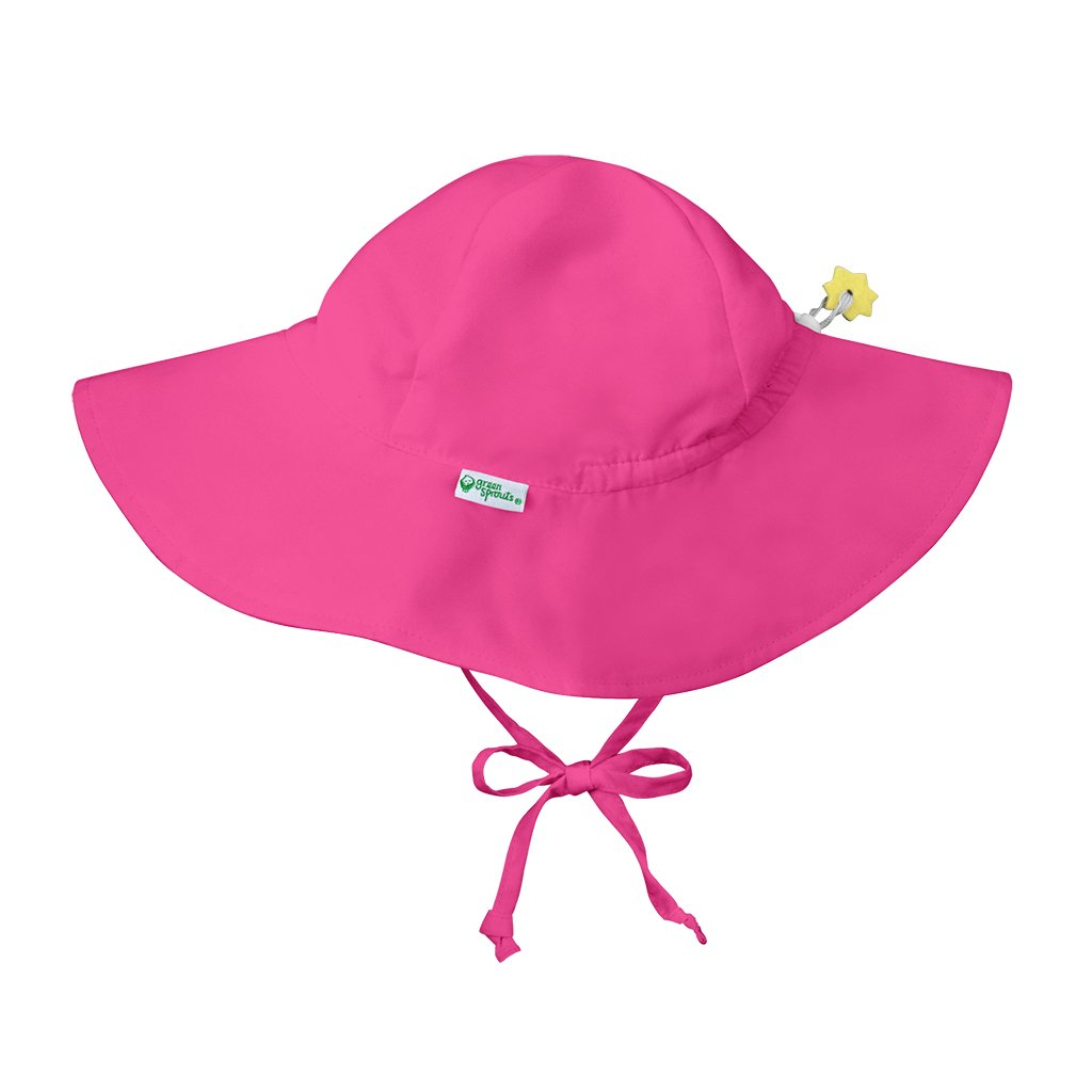 Hot Pink Brim Sun Protection Hat