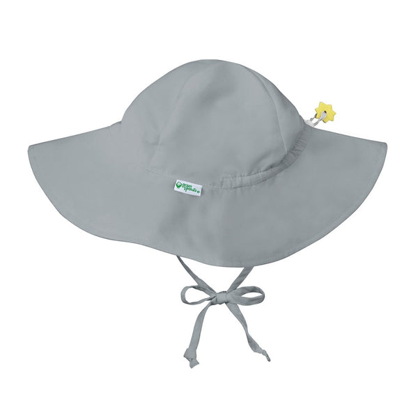 Gray Brim Sun Protection Hat
