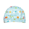 Snap Reusable Absorbent Swim Diaper and Swim Cap Set