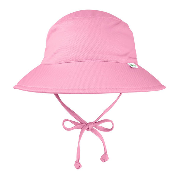 Light Pink Breathable Swim and Sun Bucket Hat