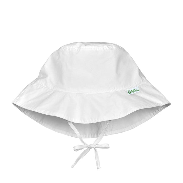 White Bucket Sun Protection Hat