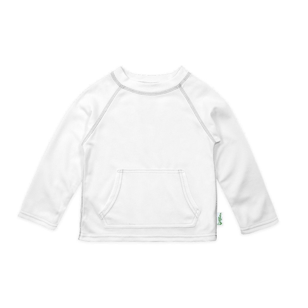 i play All-day UPF 50 sun protection/—wet or dry,Light Pink,4T by green sprouts unisex-baby Long Sleeve Rashguard