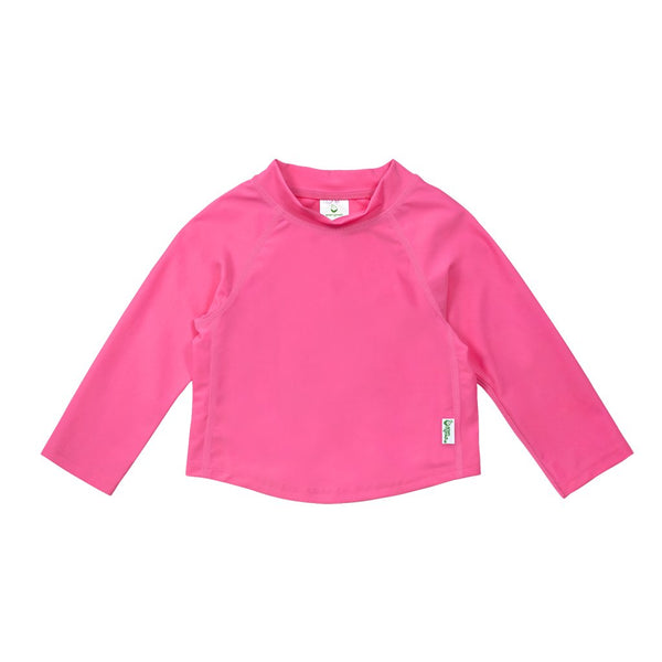 Hot Pink Long Sleeve Rashguard Shirt