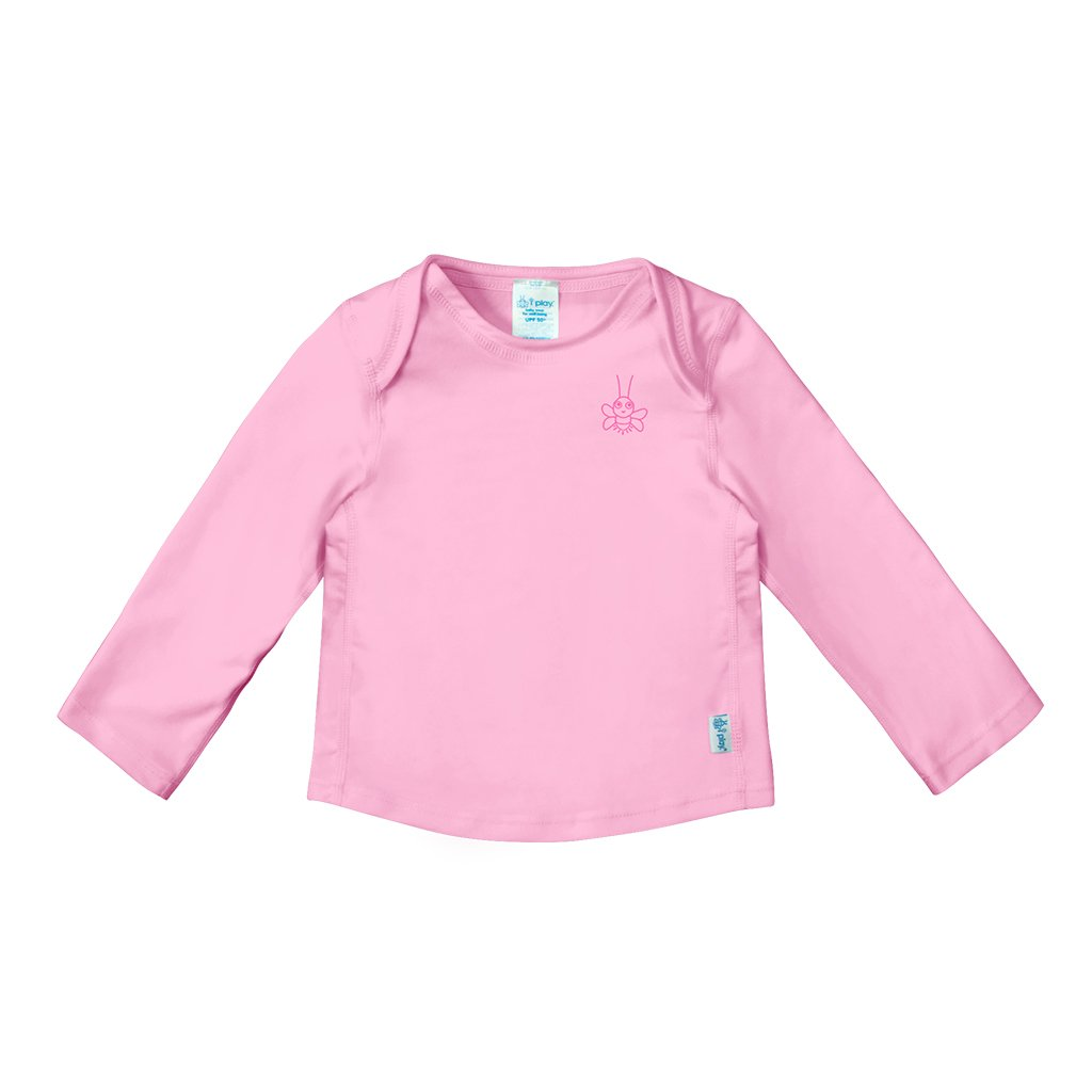 Pink Easy-on Rashguard Shirt