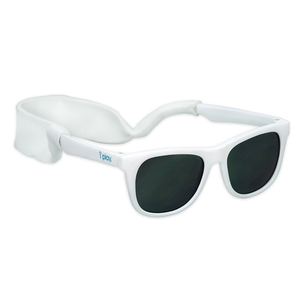 White Flexible Sunglasses