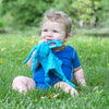 Muslin Blankie Teether made from Organic Cotton