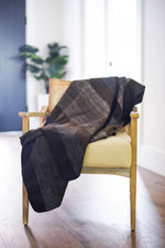 Brown Shades Alpaca Blanket - Coffee House
