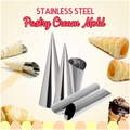 Cream Filled Pastry Cone Mold - 1 Set