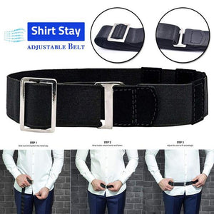 Tuck-It™ Easy Shirt Stay Adjustable Belt