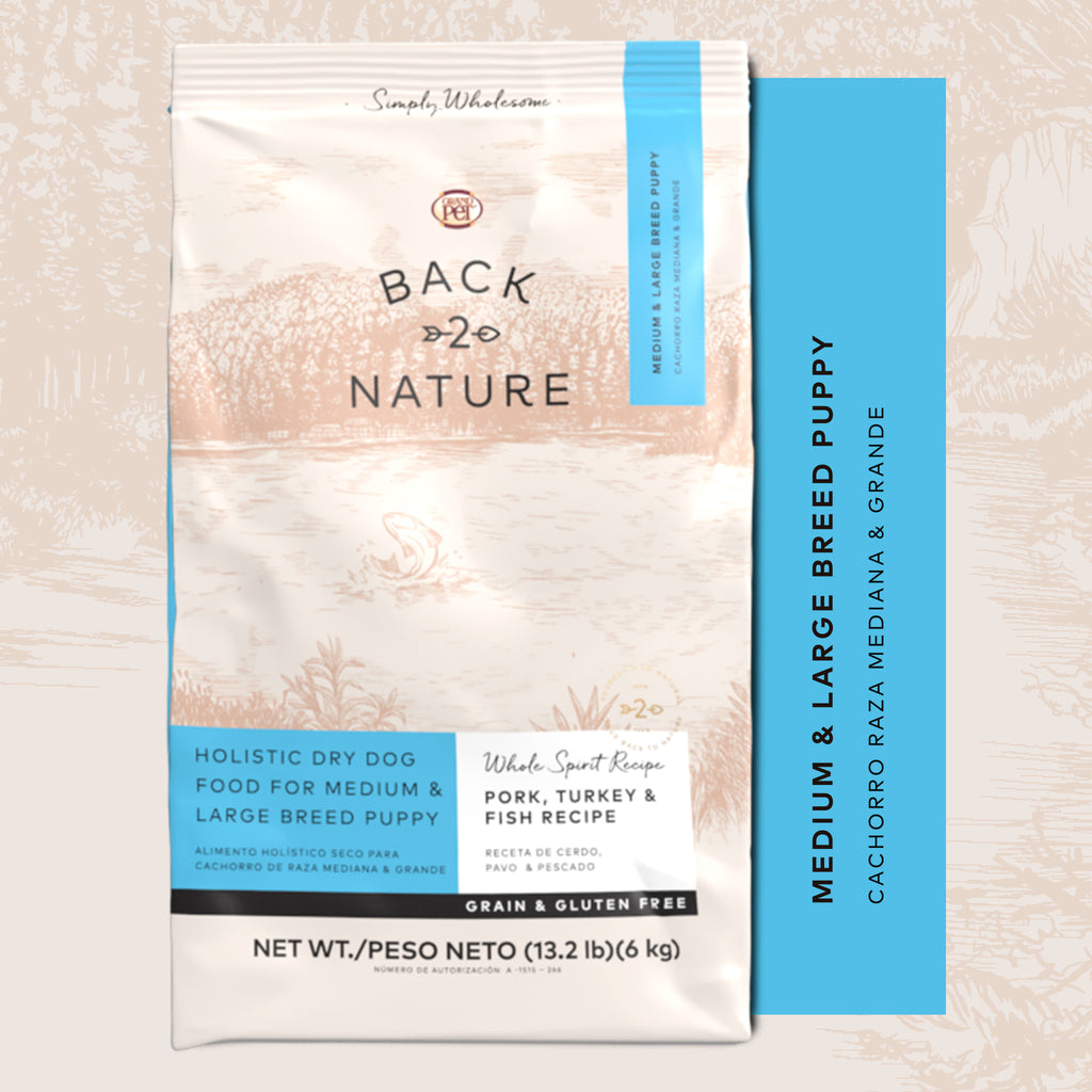 Back to Nature® Cachorro raza mediana y grande