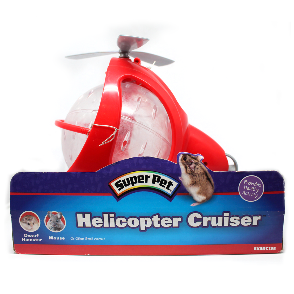 Juguete helicopter cruiser para hámster