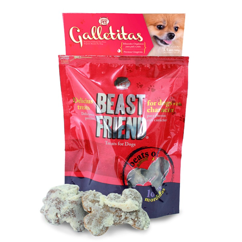 Beast Friend Galletas Espolvoreadas