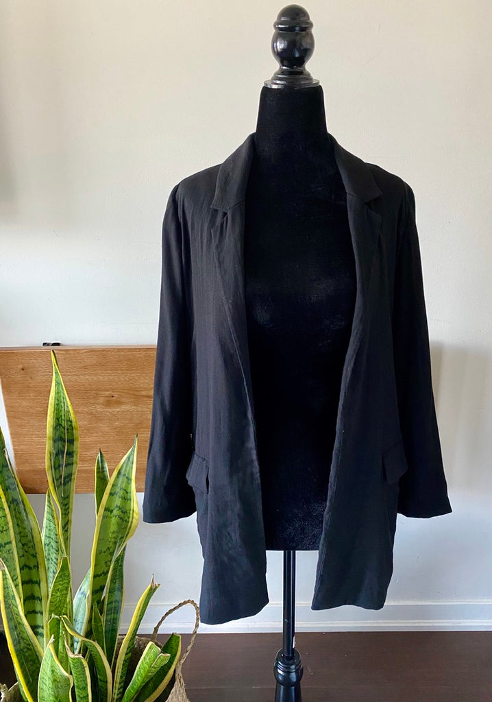 All Saints Black Blazer