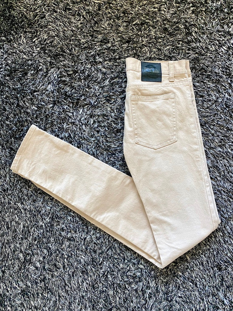 Cheap Monday Narrow Beige Jeans
