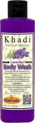 Khadi Natural Herbal Lavender Body Wash