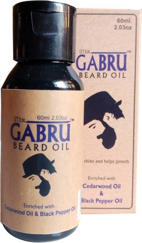 ST.bir Gabru Beard Oil (Cedarwoodoil and Blackpepper oil) 60 ml