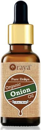 ORAYA 100% Pure & Natural ONION Herbal Hair Oil (30 ml)