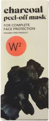 W2 Charcoal Peel-Off-Mask Complete Face Protection (100 g)