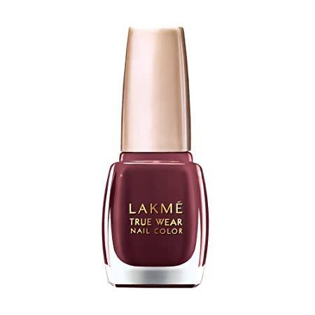 Lakme True Wear Nail Color, Reds and Maroons 401, 9 ml