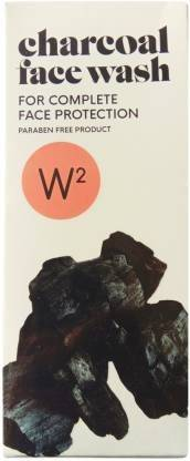 W2 Charcoal Face Wash For Complete Face Protection (100 g)
