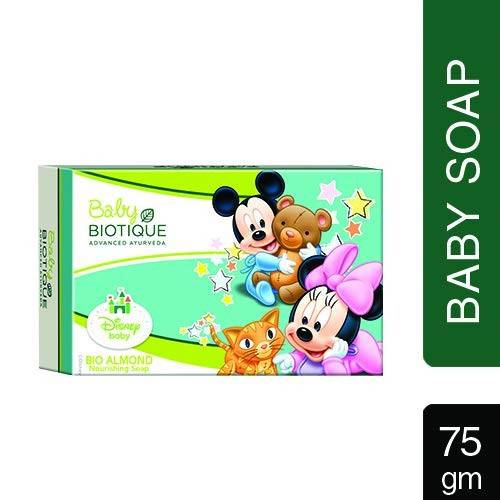 Biotique Almond Oil Body Cleanser Mickey Soap, 75g