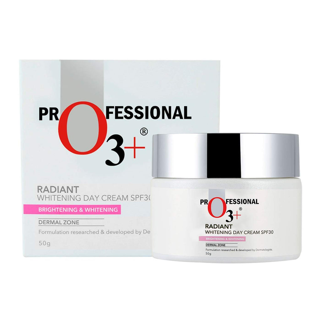 O3+ Radiant Brightening & Whitening Day Face Cream SPF 30