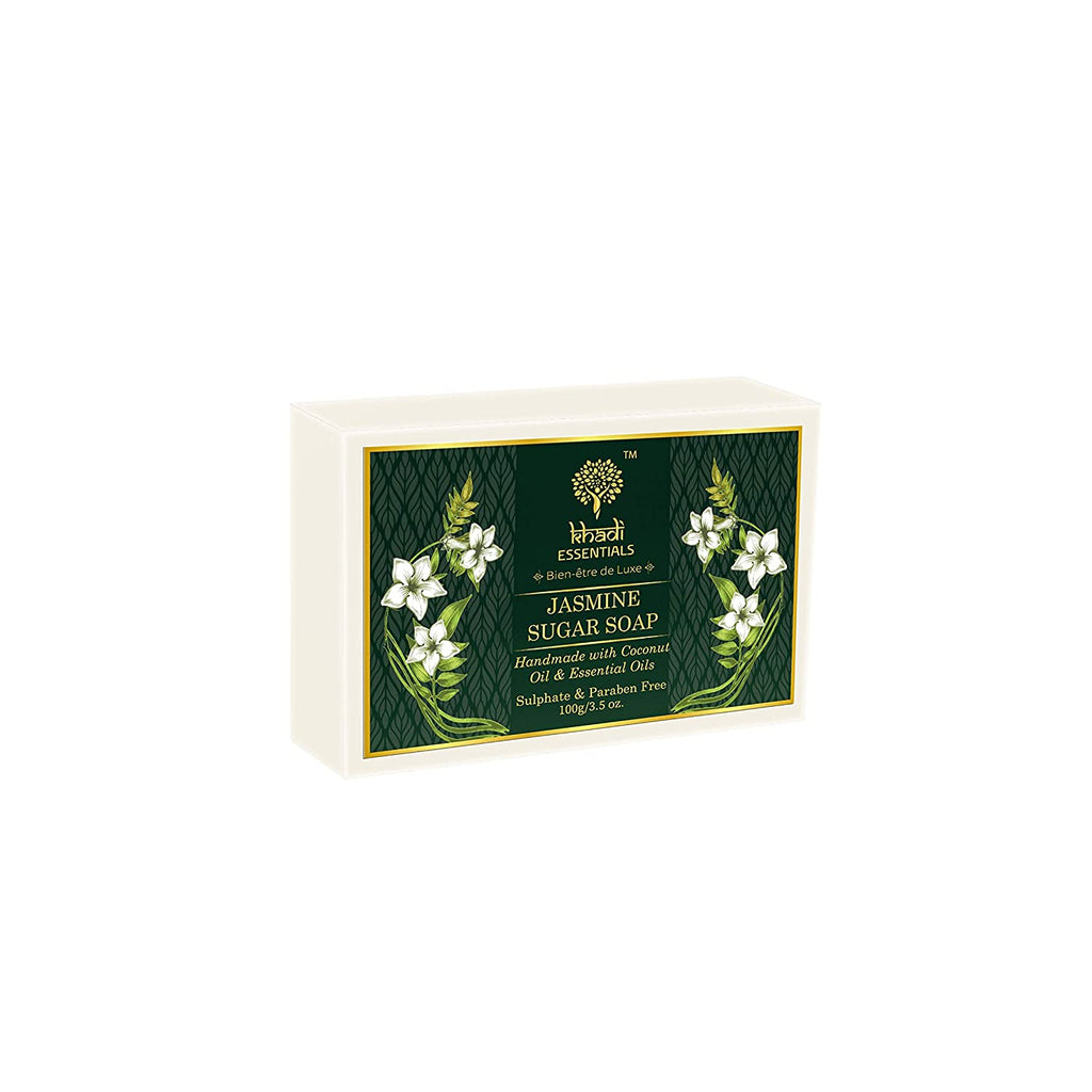 Khadi Essentials Jasmine Sugar Soap