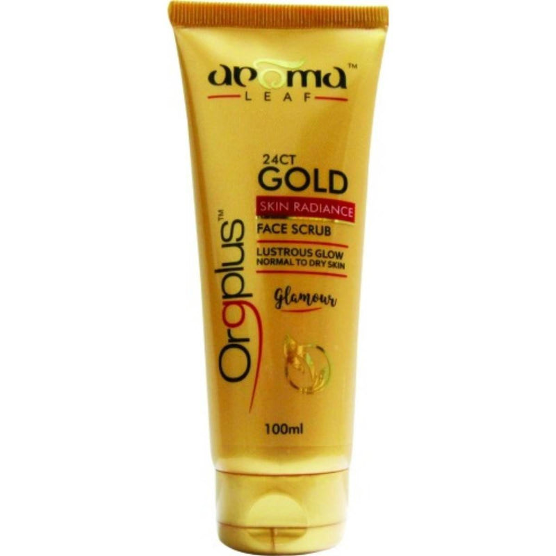 Aroma Leaf 24CT Gold Face Scrub (100ml)